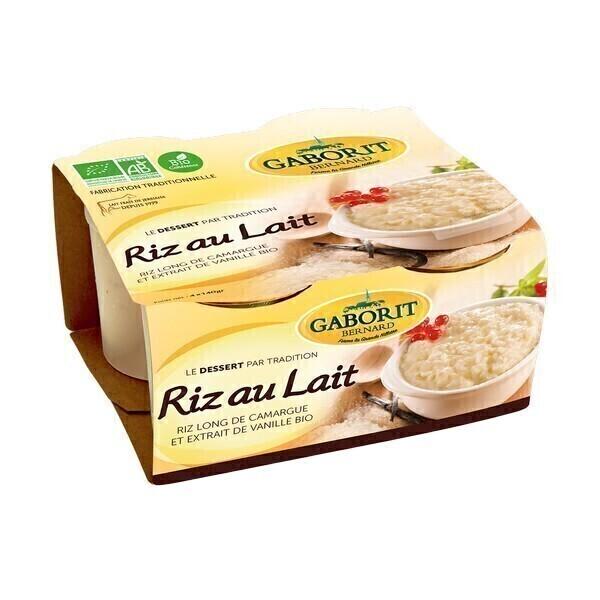 Gaborit - Riz au lait maison 4x140g