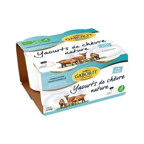Gaborit - Yaourt de chèvre 4x125g