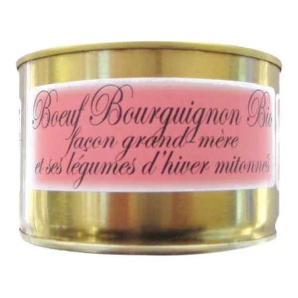 Gaec de Montredon - Bœuf Bourguignon aux légumes d'hiver mijotés 450g