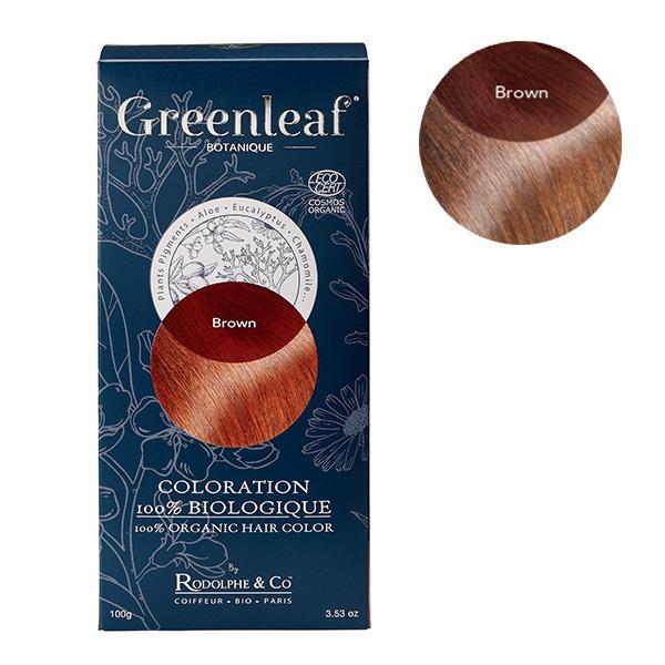 Greenleaf botanique - Coloration Brun