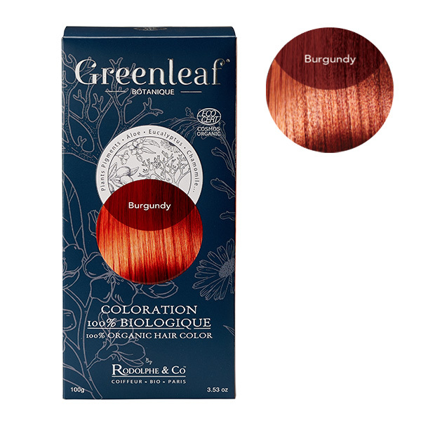 Greenleaf botanique - Coloration Burgundy