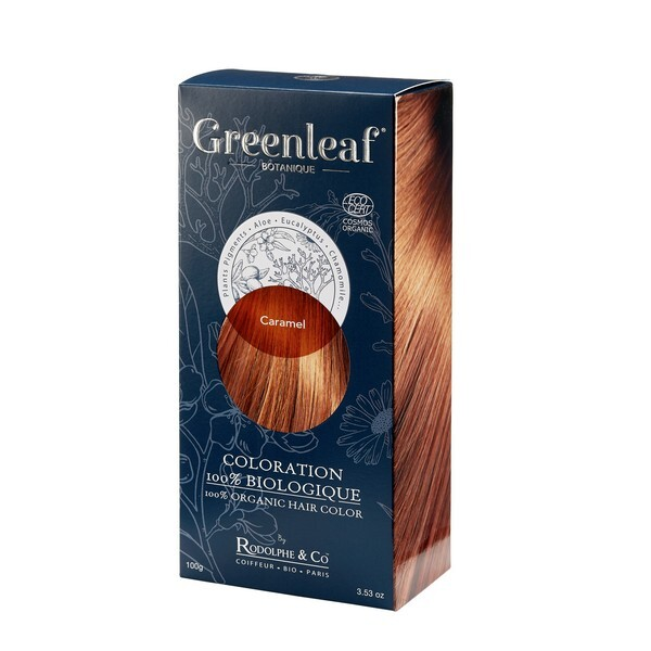 Greenleaf botanique - Coloration Caramel