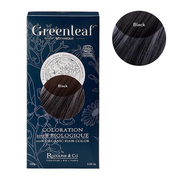 Greenleaf botanique - Coloration Noir