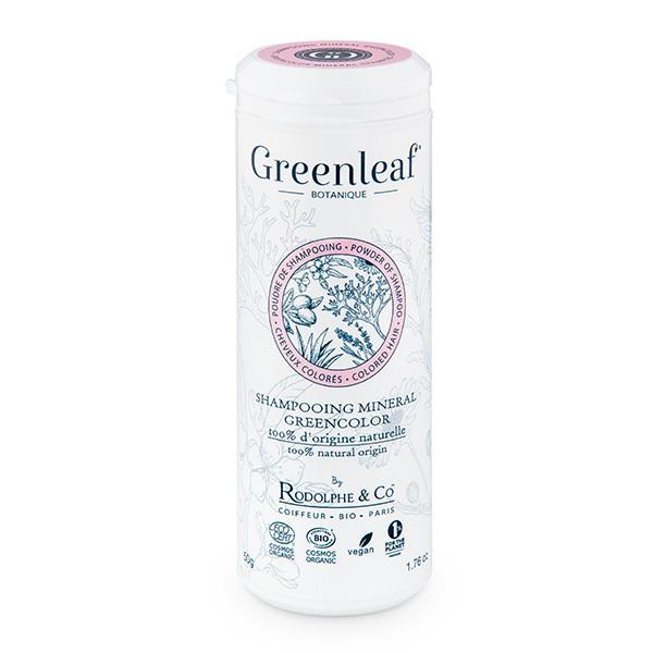 Greenleaf botanique - Shampooing minéral pour cheveux colorés - Tube de 50g