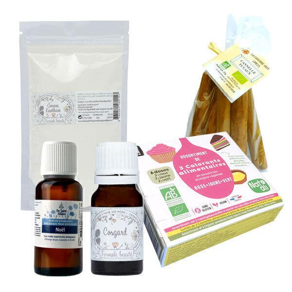 Greenweez Club - Box DIY Parfum d'ambiance en gel 4 personnes