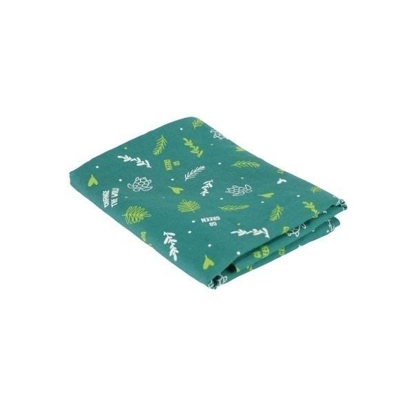 Greenweez - Lot de 3 Furoshiki Vert jungle 65 x 65cm