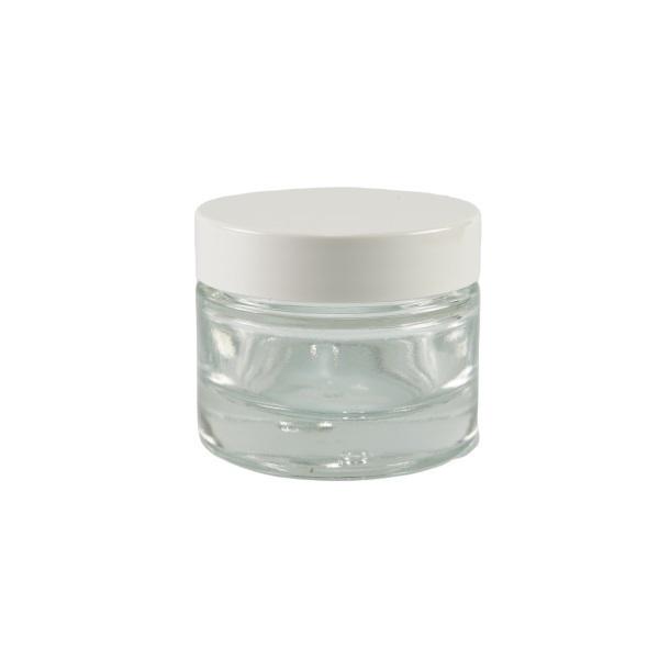 Greenweez - Pot en verre naturel 30 ml avec couvercle