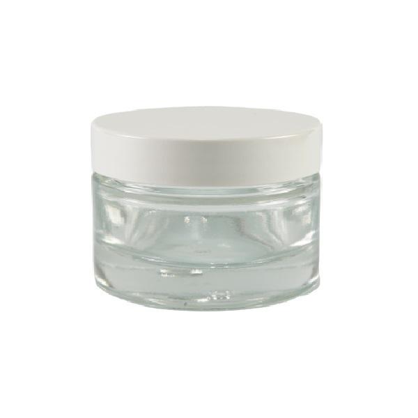 Greenweez - Pot en verre naturel 50 ml avec couvercle