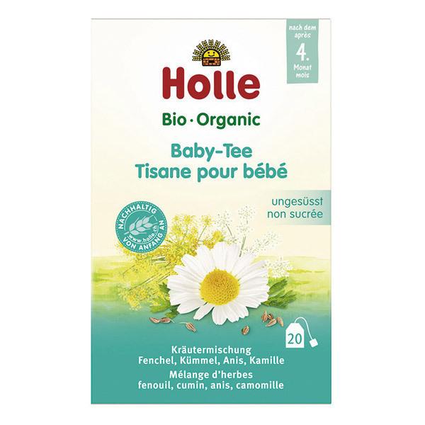 Holle - Tisane pour Bébé non sucrée dès 4 mois