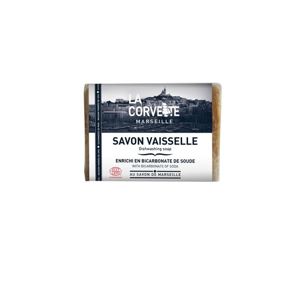 La Corvette - Savon vaisselle au bicarbonate de soude 200g