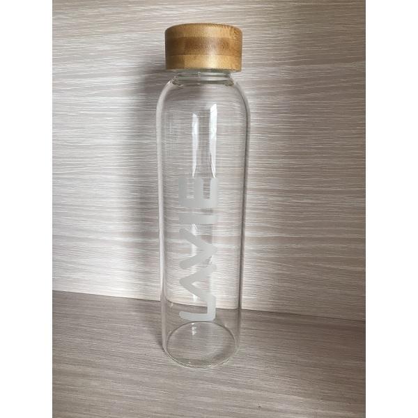 LaVie - Bouteille en verre pour purificateur LaVie 2GO 50cl