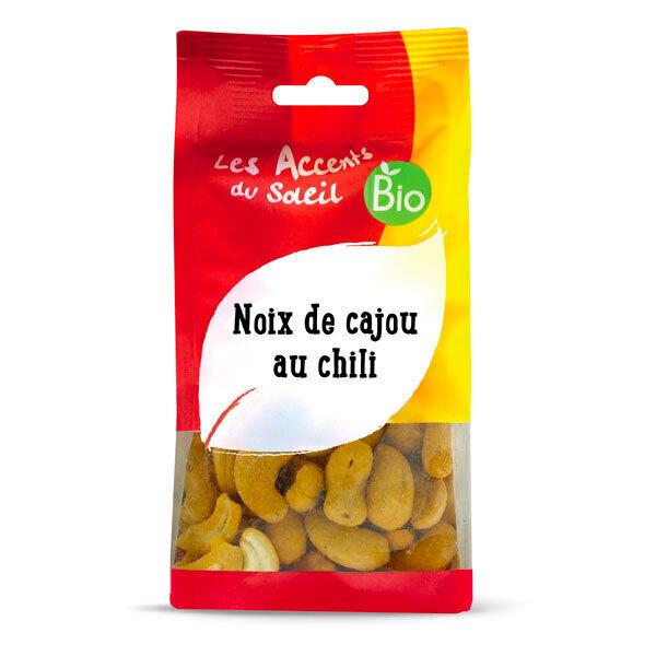 Les Accents du Soleil - Noix de cajou sauce-chili 125g