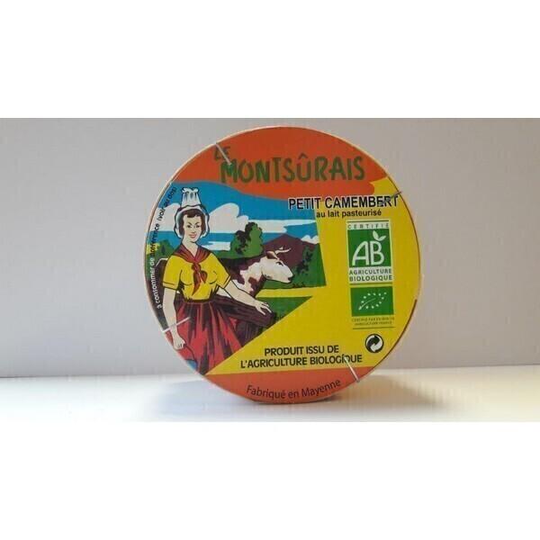 Montsurs - Petit Camembert 150g
