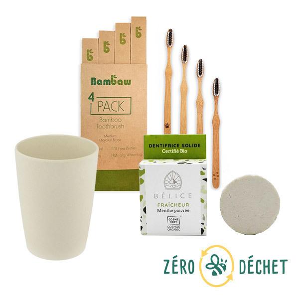 Packs Zéro Déchet - Pack découverte Zéro Déchet Brossage des dents
