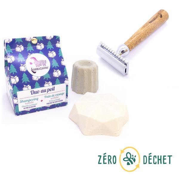 Packs Zéro Déchet - Pack découverte Zéro Déchet Rasage