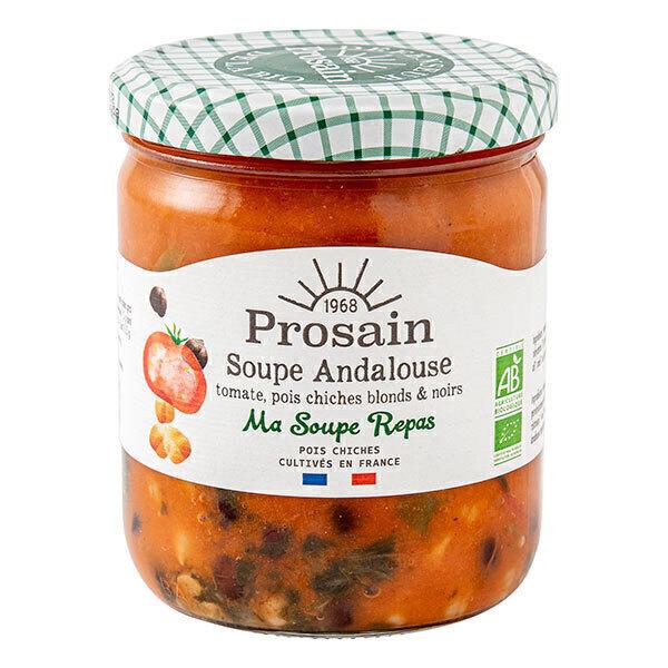 ProSain - Soupe Andalouse à la tomate et aux deux pois chiches 420g