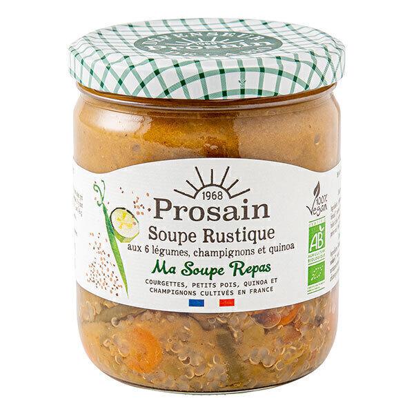 ProSain - Soupe Rustique aux 6 légumes, champignons et quinoa 420g