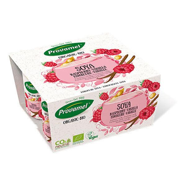 Provamel Frais - Soja Yofu framboise-vanille 4x125g