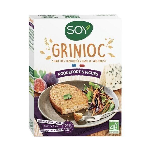 Soy - Grinioc Roquefort et Figues 2x100g