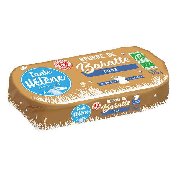 Tante Hélène - Beurre de baratte moulé doux 125g