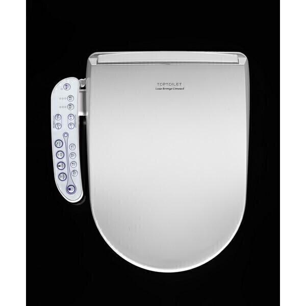 TopToilet - Abattant WC japonais Luxe Bronze Connect