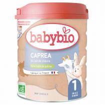 Babybio - Capréa 1 Lait de chèvre bio nourrissons 800g
