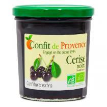 Confit de Provence - Confiture extra cerise noire 370g