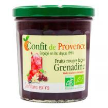 Confit de Provence - Confiture extra fruits rouges façon Grenadine 370g