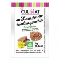 Culinat - Levure boulangère sans gluten 3 x9g