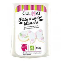 Culinat - Pâte à sucre blanche 150g