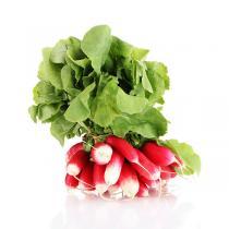 Fruits & Légumes du Marché Bio - Radis longs roses en botte. France