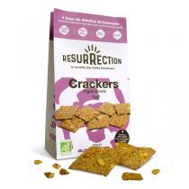 Résurrection - Lot de 2 x Crackers figue & noix 100g