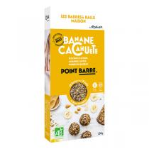 Sport'n Bio - BARRES'n BALLS MAISON Bio - Banane & Cacahuète