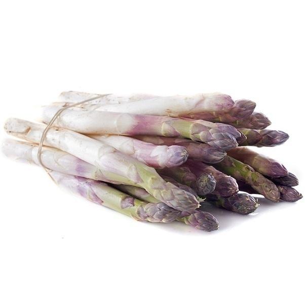 Fruits & Légumes du Marché Bio - Asperge blanche/violette. France