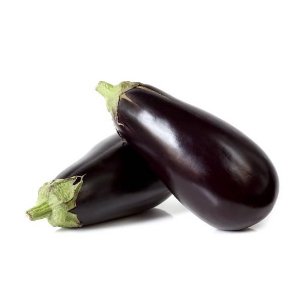 Fruits & Légumes locaux IDF Bio - Aubergine violette. Ile de France