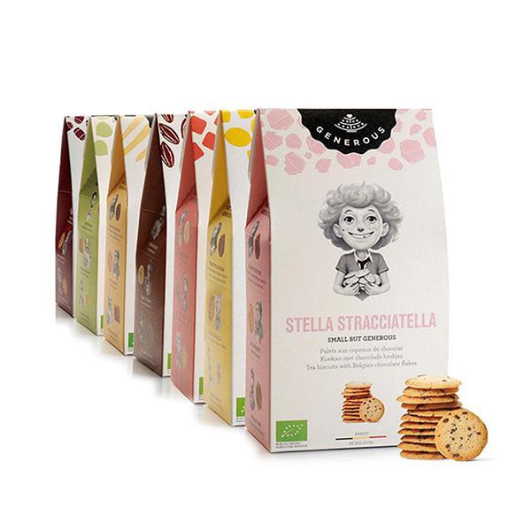 Generous - Biscuits Stella Stracciatella 100g