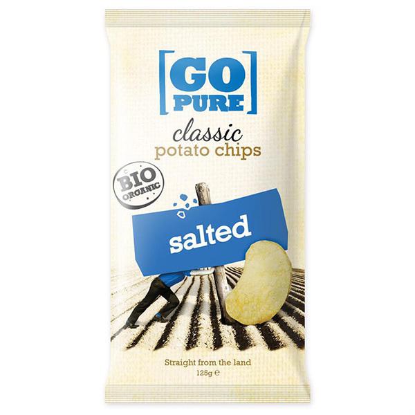 Go Pure - Chips Salée 125g