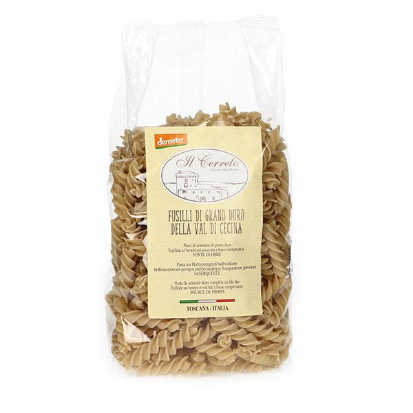 Il Cerreto - Fusilli de blé dur Demeter 500g