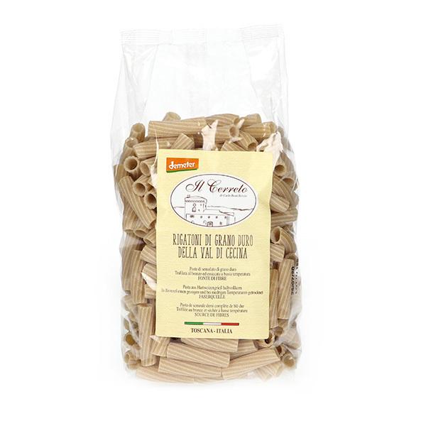Il Cerreto - Rigatoni blé dur Demeter 500g