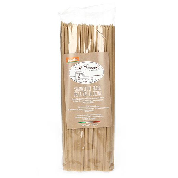 Il Cerreto - Spaghetti d'épeautre Demeter 500g