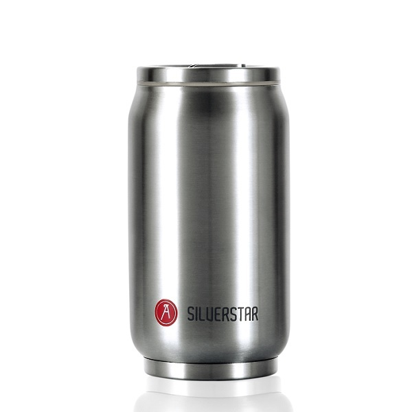 Les Artistes - Mug isotherme Pull Can'it Inox 28cl