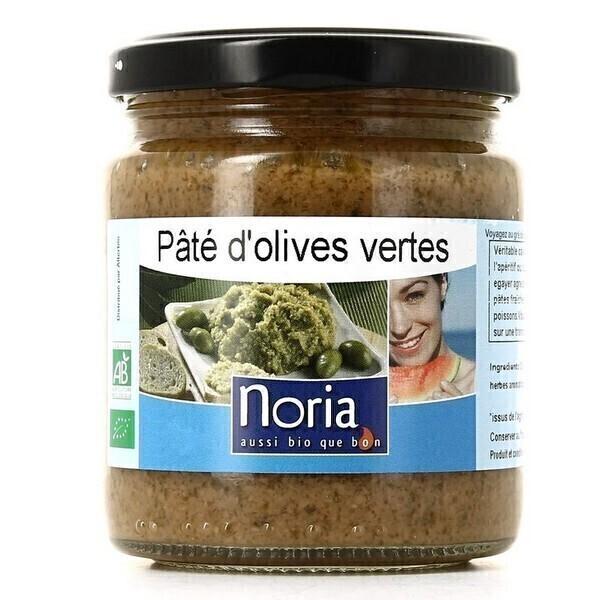 Noria - Pâté D'olives Vertes Bio 220g