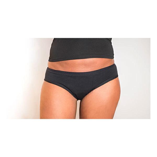 Slowen - Culotte menstruelle absorbante noire flux moyen - T.46/48