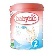 Babybio - Priméa 2 lait de suite bio 6 -12 mois 800g