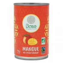 Base Organic Food - Mangue en morceaux 400g