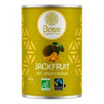 Base Organic Food - Fruit du Jacquier en morceaux jackfruits 400g