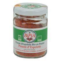 Bipia - Piment d'Espelette Bio en Poudre 40g