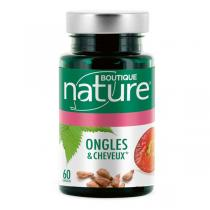 Boutique Nature - Ongles & Cheveux 60 capsules marines