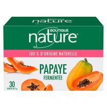 Boutique Nature - Papaye Fermentée 30 sachets de 3g