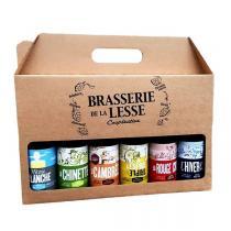 Brasserie de la Lesse - Pack Cadeau 6 Bières 6x33 cl